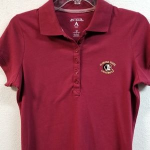 Florida State University FSU Women's Polo Shirt